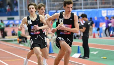 Boys and girls track attend New Balance Indoor Nationals