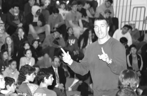 Chris Herren returns to Schreiber to share his story: Motivational speaker and former NBA player speaks to students