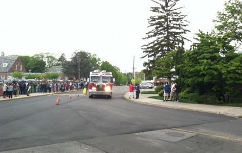 Kitchen fire necessitates full evacuation