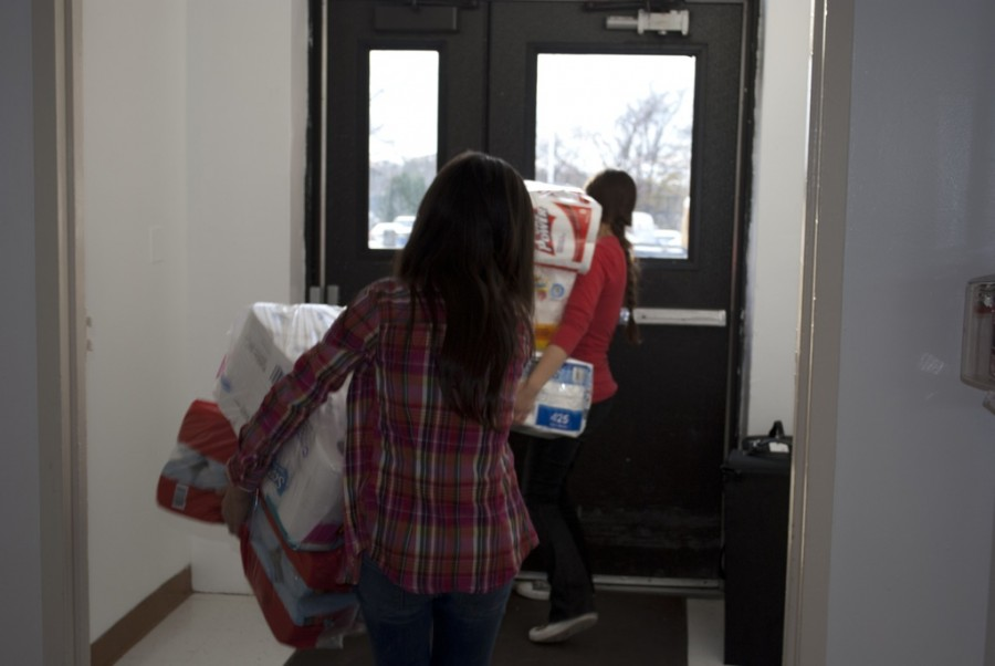 Student body recovers and gives back after Hurricane Sandy