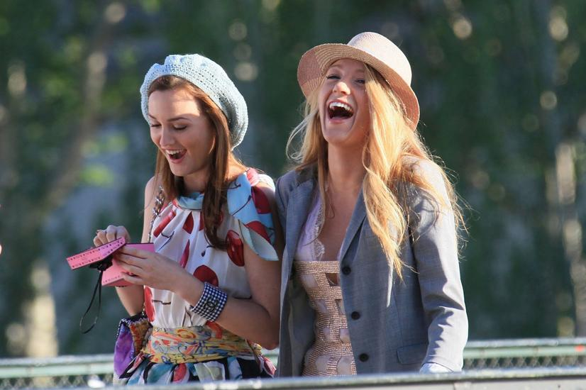 Blair Waldorf (Leighton Meester) and Serena Van Der Woodsen (Blake Lively) bond over their love for high fashion and social status in the city of Manhattan.  These two are known for a friendship that often has its downs, but will never break.