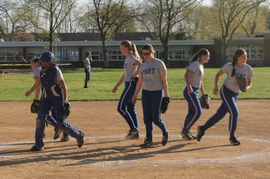 Softball team goes undefeated in conference play: Despite regular season success, team falls in first round of playoffs to Carey