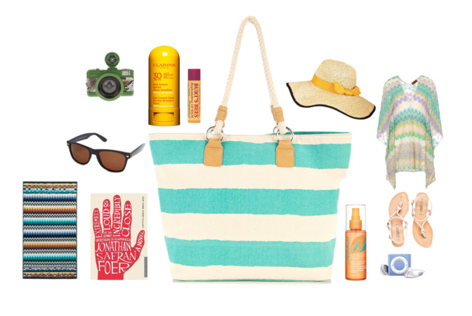 Five+essentials+to+fill+your+beach+bag+with+this+summer