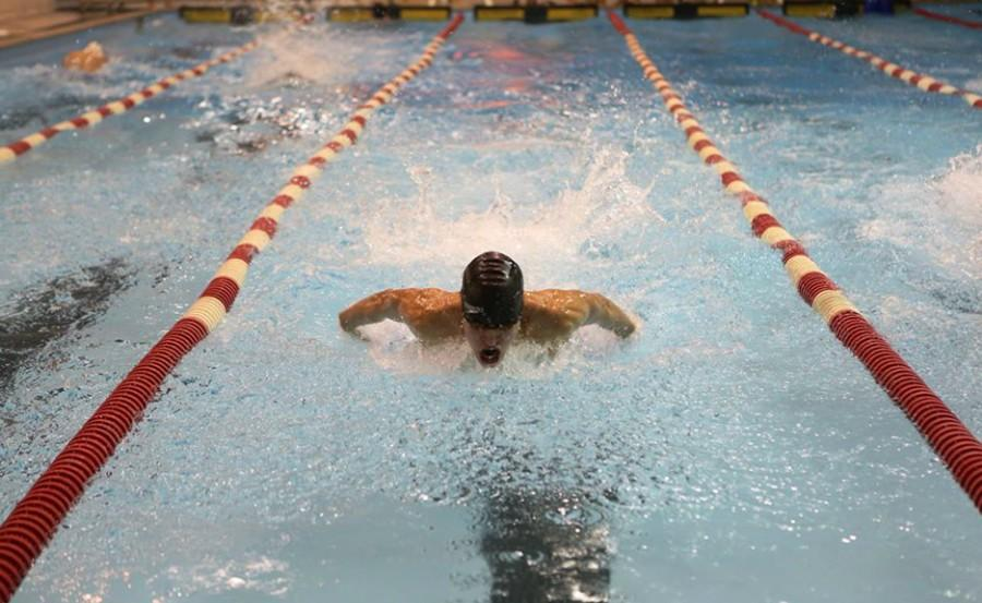 Port swimming finishes season with a splash