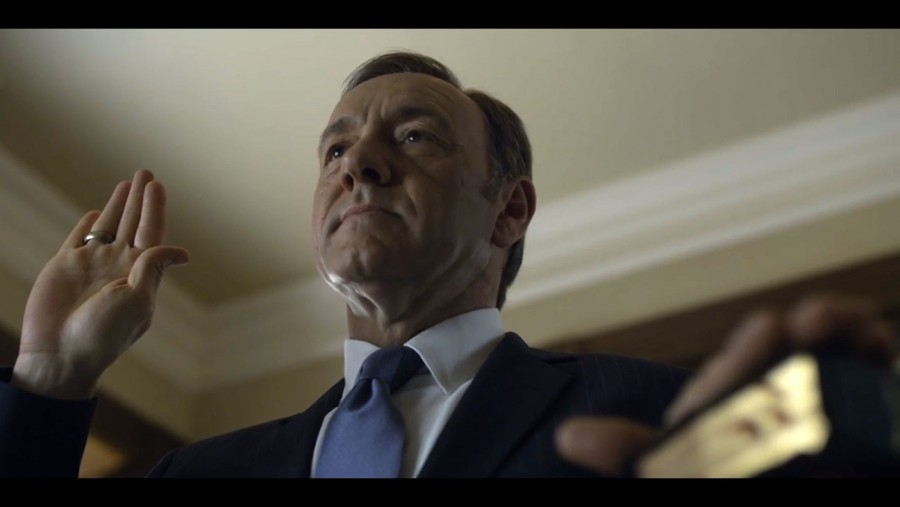 Kevin Spacey continues to play his cards right in House of Cards