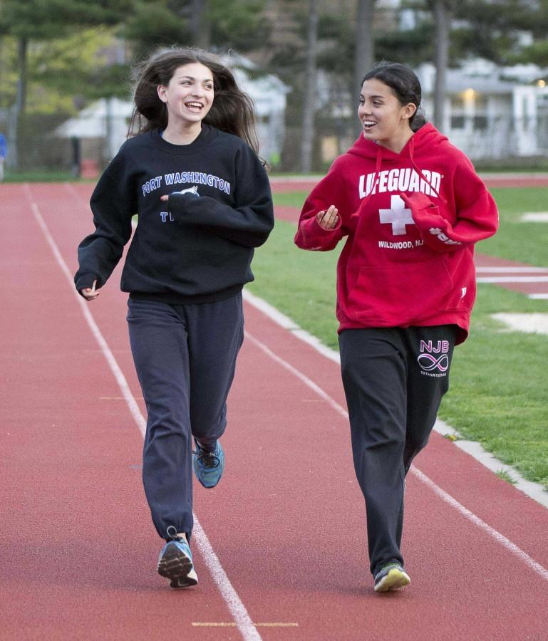 Girls+varsity+track+and+field+practices+lead+to+success+in+meets