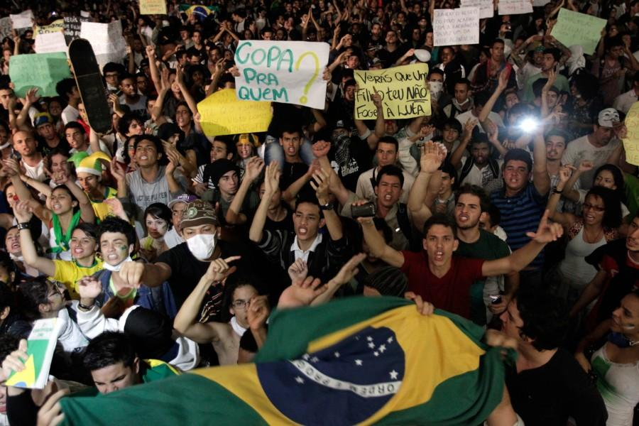 Calling+the+Shots%3A+Protests+in+Brazil+overshadow+2014+World+Cup