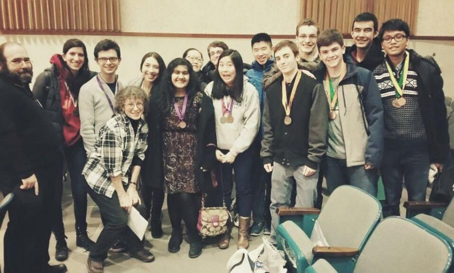 Science Olympiad moves on after placing at Regionals