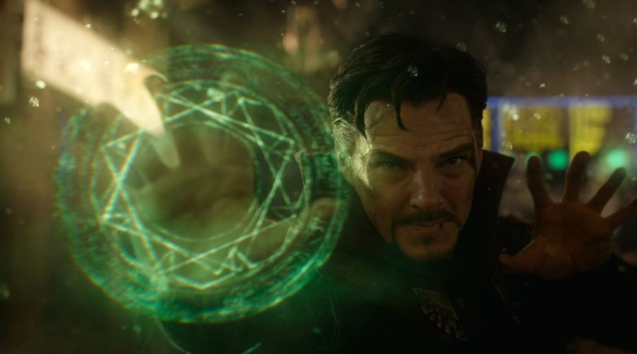 Doctor+Strange%2C+played+by+Benedict+Cumberbatch%2C+training+in+the+art+of+magic+to+eventually+face+the+Ancient+One%2C+the+antagonist+of+the+movie.