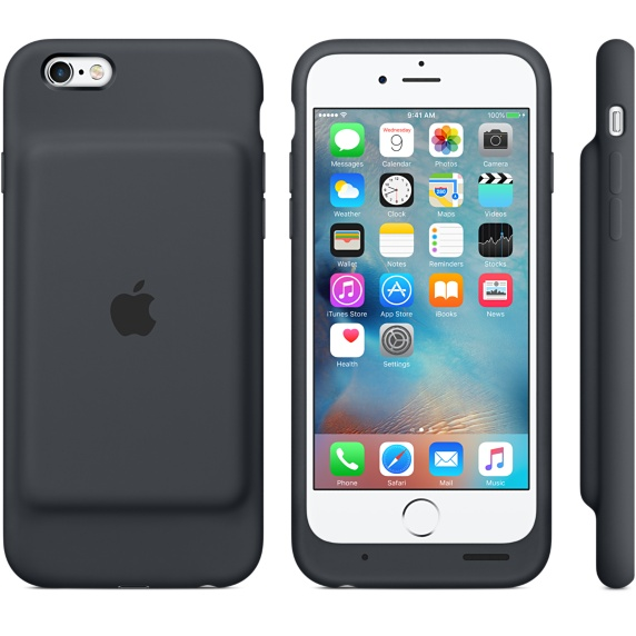 Pictured above is the Apple charger case for iPhones. It is a viable option for a charger case; but it comes at different prices.