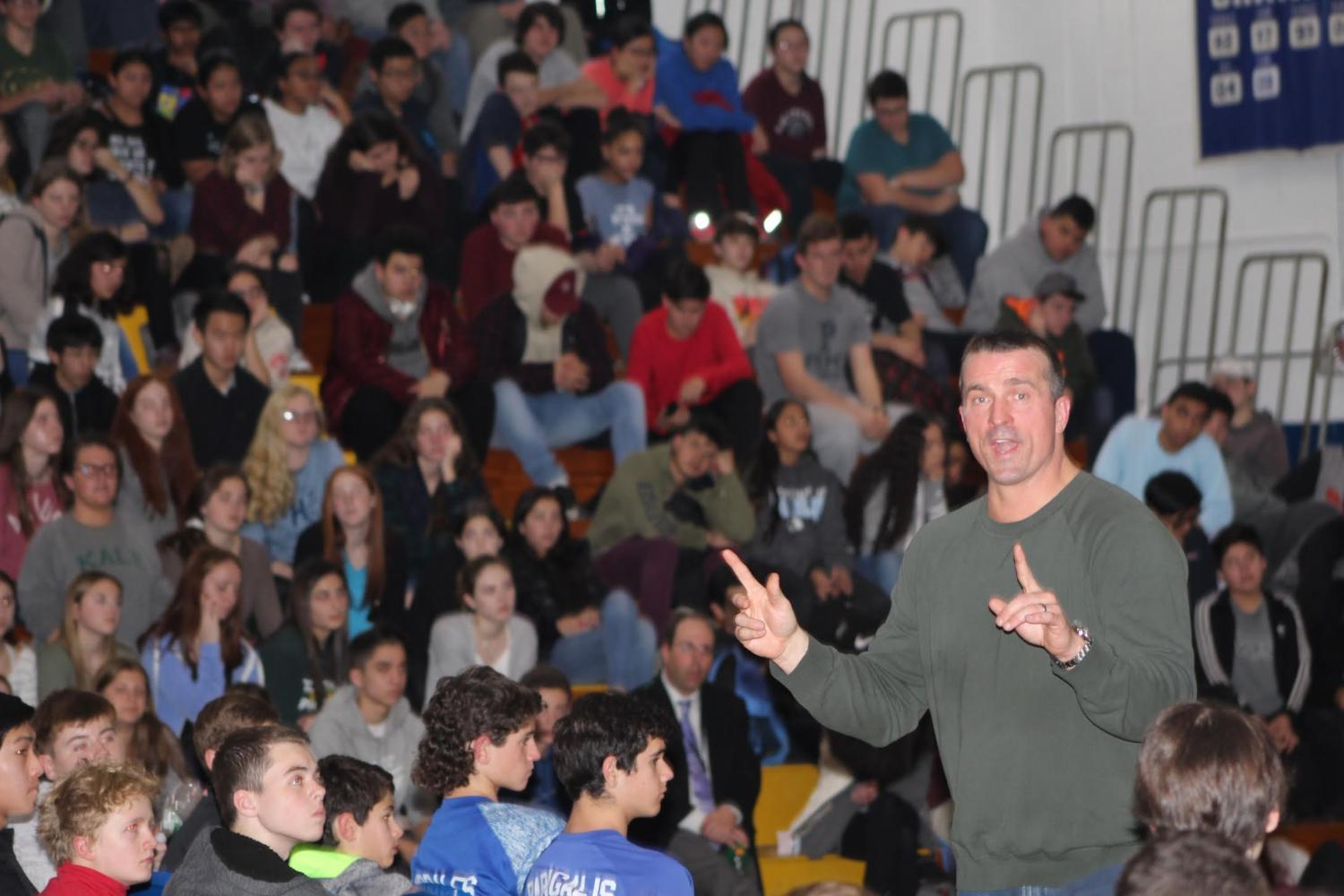 Chris+Herren+spoke+to+the+student+body+about+his+experiences+with+drug+abuse+as+a+professional+NBA+player%2C+and+how+it+caused+issues+in+both+his+professional+and+personal+life.+He+also+answered+questions+and+gave+advice+about+how+to+maintain+a+drug-free+lifestyle.