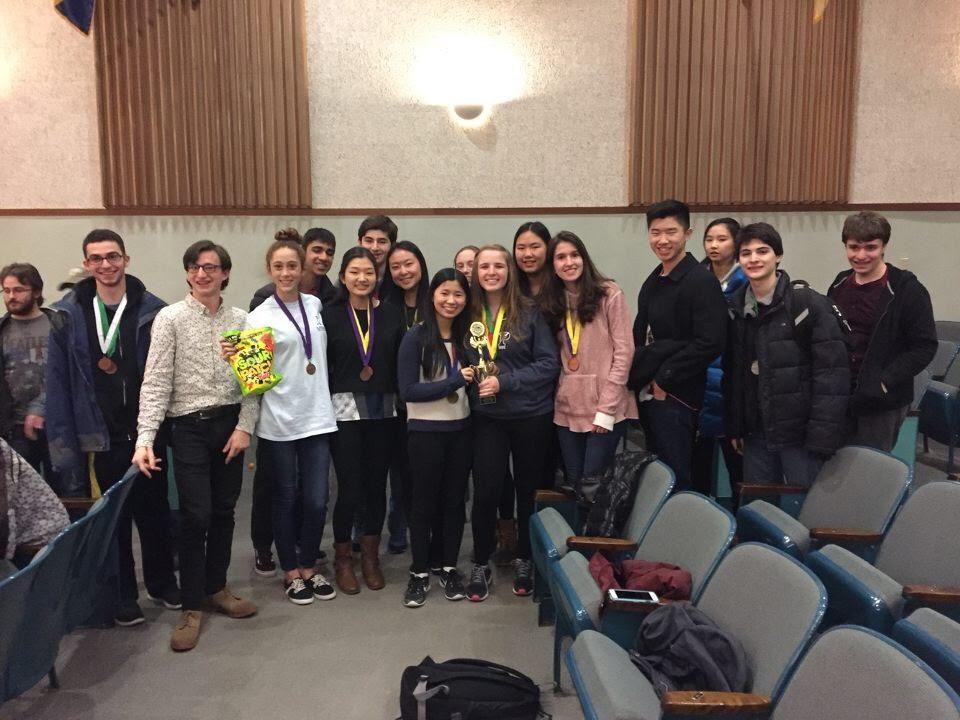 The Science Olympiad team advances to States: Schreiber takes home ...