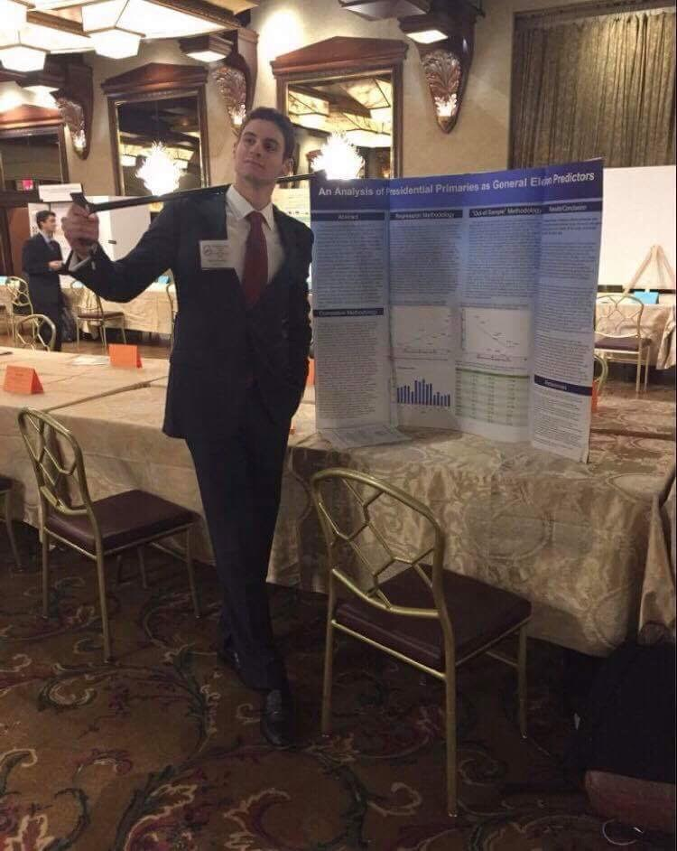 Senior+Michael+Nachman+presents+his+research+concerning+the+accuracy+of+presidential+primaries+in+predicting+the+general+election.