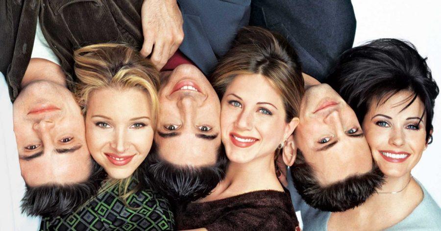 Joey (Matt LeBlanc), Phoebe (Lisa Kudrow), Ross (David Schwimmer), Rachel (Jennifer Aniston), Chandler (Matthew Perry), and Monica (Courteney Cox) are the main characters of Friends.