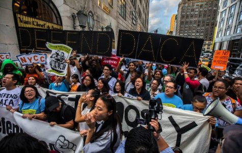Protesters have marched nationwide from New York to Los Angeles, rallying against the likelihood of President Trump to end Deferred Action for Childhood Arrivals (DACA). DACA protected young