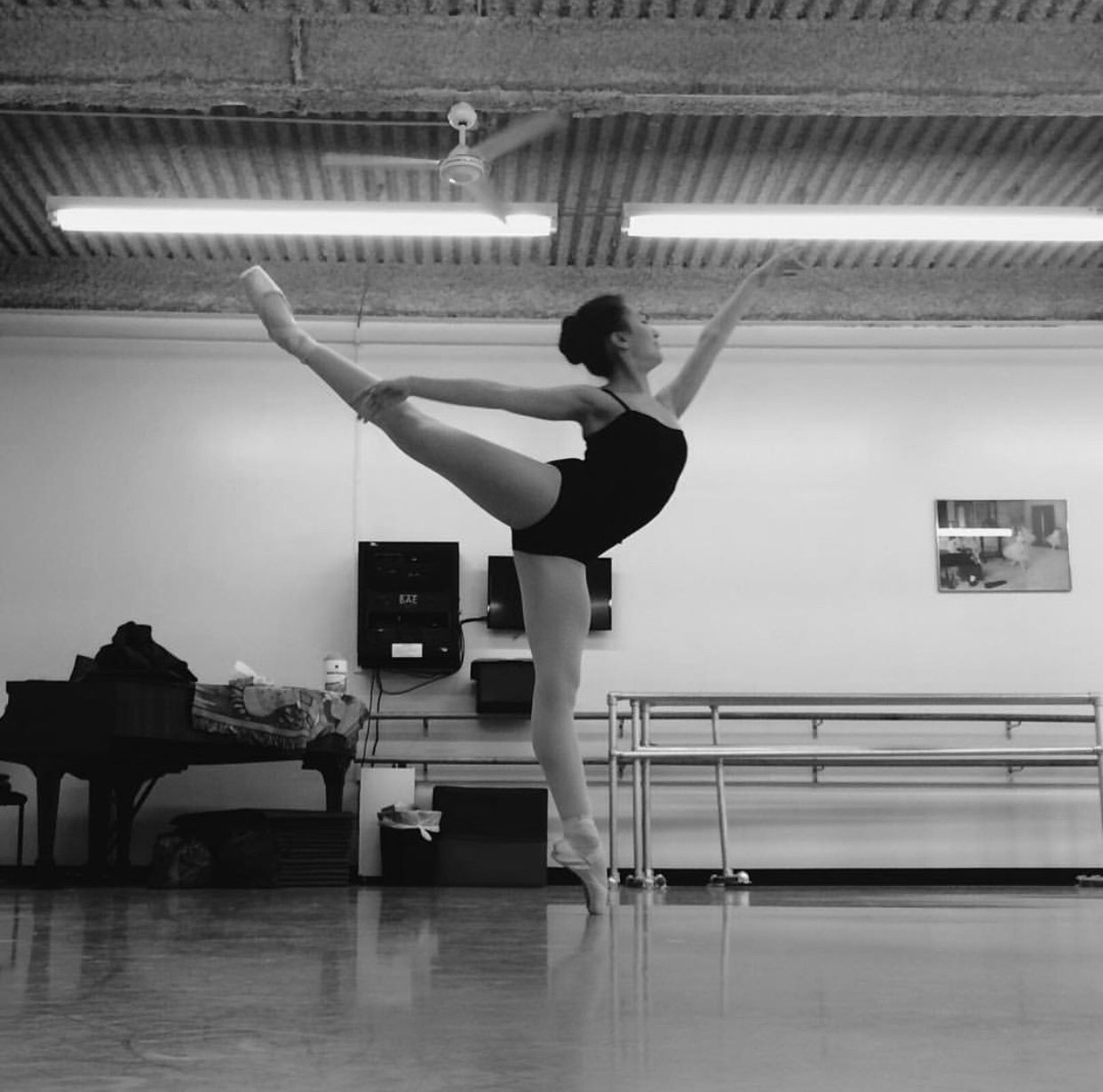 Isabella Henderson's intense practice routine involves spending over 40 hours a week in her ballet studio on the Upper East Side in Manhattan. Henderson balances this rehearsal schedule with a full Schreiber course load.