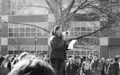 Student-organized walkout is held to demand change