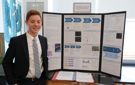 Schreiber Fair showcases students' research projects