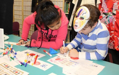 Manorhaven students explore Japanese culture
