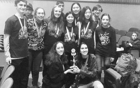 Science Olympiad team thrives at recent competition