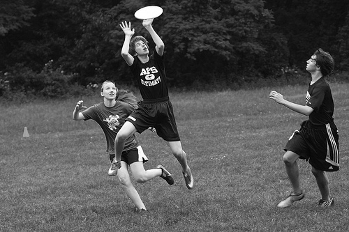 Ultimate frisbee is extremely popular around the country, and is recognized as a varsity sport in Vermont.