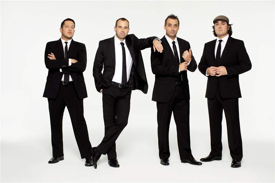 The+cast+of+Impractical+Jokers%2C+Sal+Vulcano%2C+Brian+Quinn%2C+Joe+Gatto+and+James+Murray%2C+perform+funny+public+stunts+for+entertainment.+This+is+one+of+the+funniest+and+most+watched+shows+in+America.+