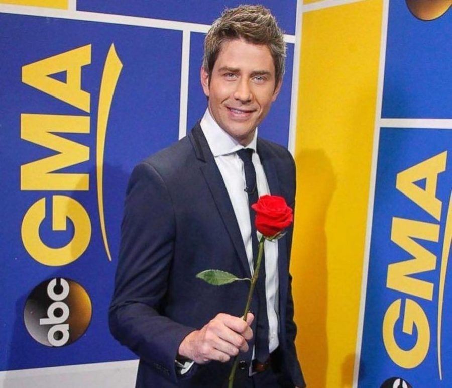 Arie+Luyendyk%2C+Jr.+holding+a+rose.+Arie+was+previously+on+The+Bachelorette%2C+yet+did+not+find+love+and+hopes+he+finds+true+love+this+season.