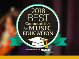 The Best Communities for Music Education (BCME) recognizes outstanding efforts by music departments.