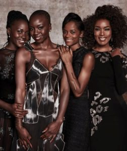 The movie Black Panther came to theaters on Feb. 16. It was a huge hit and these beautiful African American women were all stars in the top hit movie.