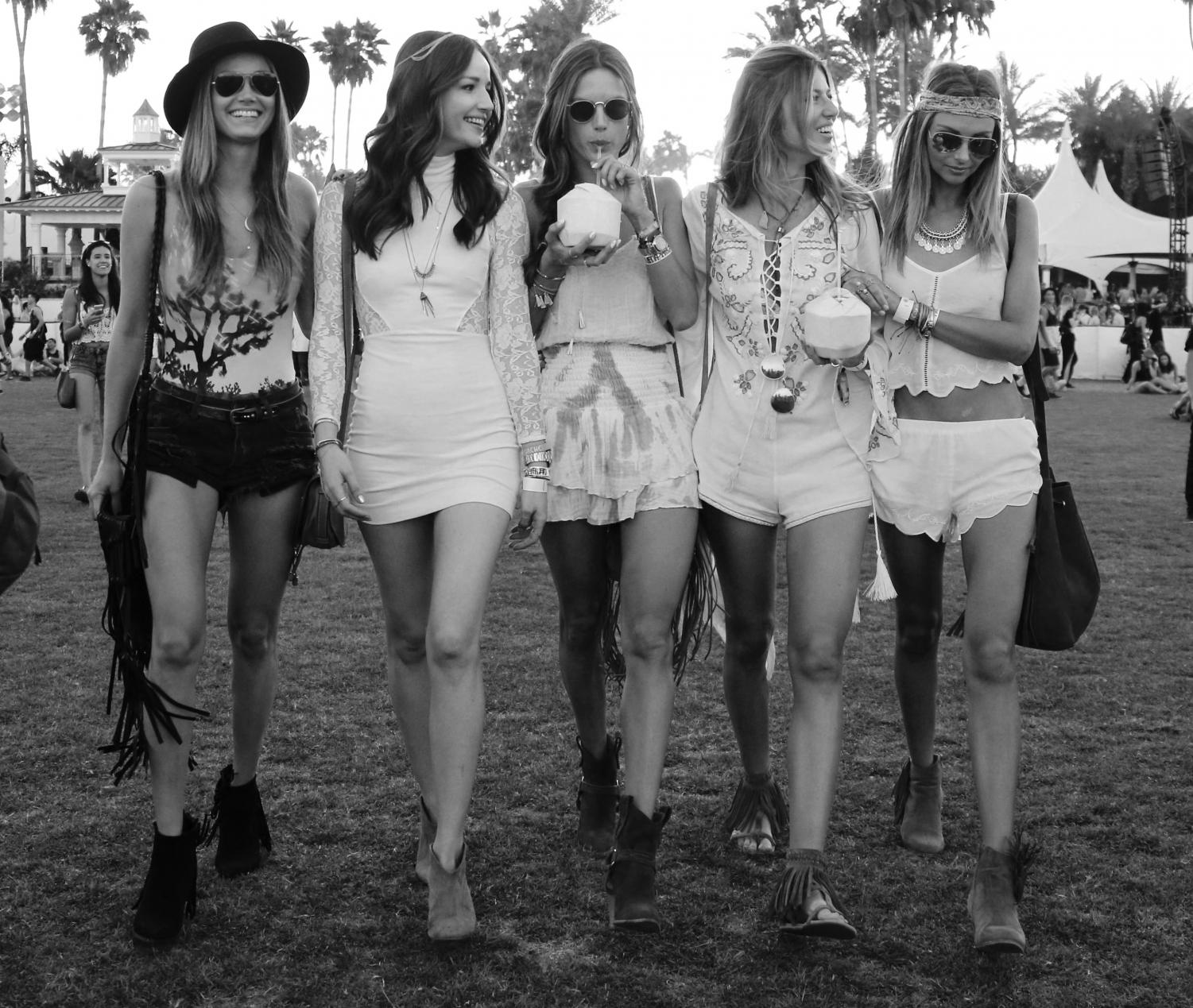 Coachella was the kick-off to the festival season, and many people took to celebrities for their own inspiration for festivals such as Governor's Ball.