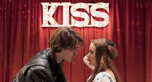 The Kissing Booth was released on Netflix on May 11. Noah Flynn and Elle Evans are pictured above after sharing their first kiss at the carnival's kissing booth.