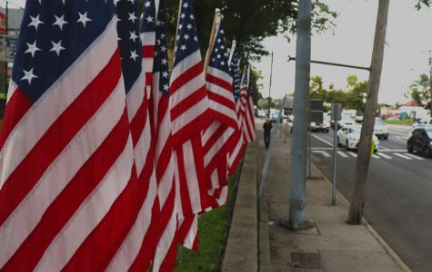 American heroes club sets up flags in remembrance of 9/11