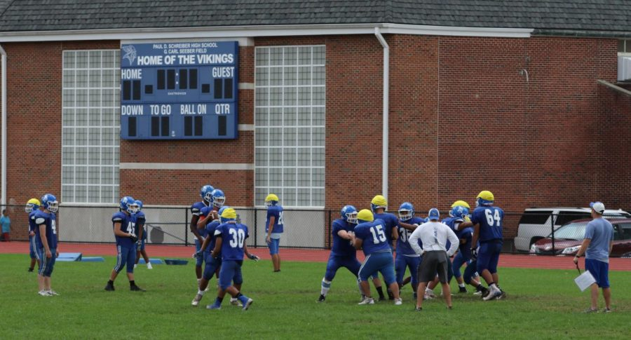 Football team adjusts to jump to higher division