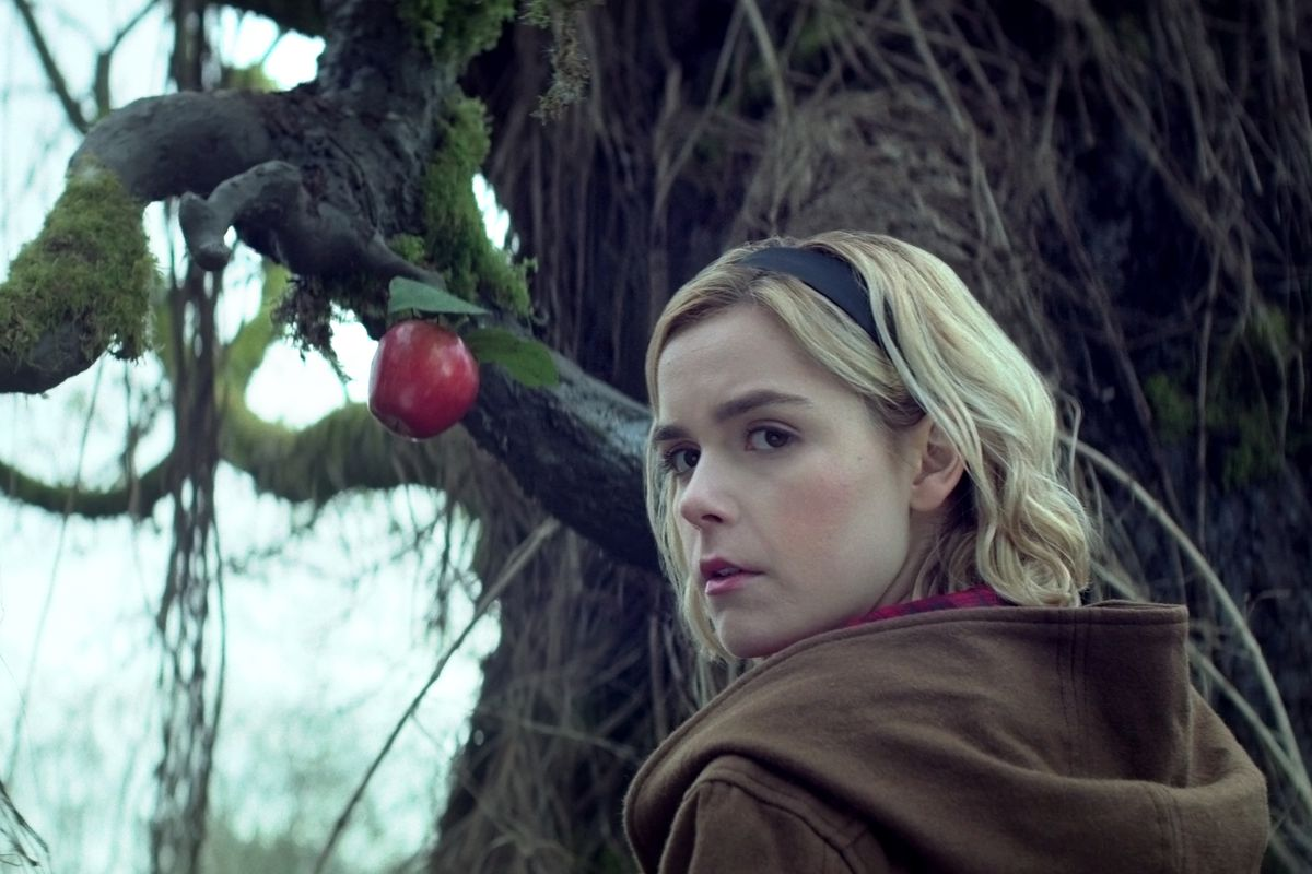 The main character, Sabrina, is played by star Kieran Shipka. Fans are loving the new spin off of the classic show.