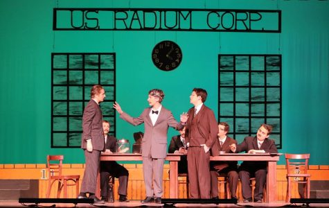 Schreiber's new show, Radium Girls, takes center stage