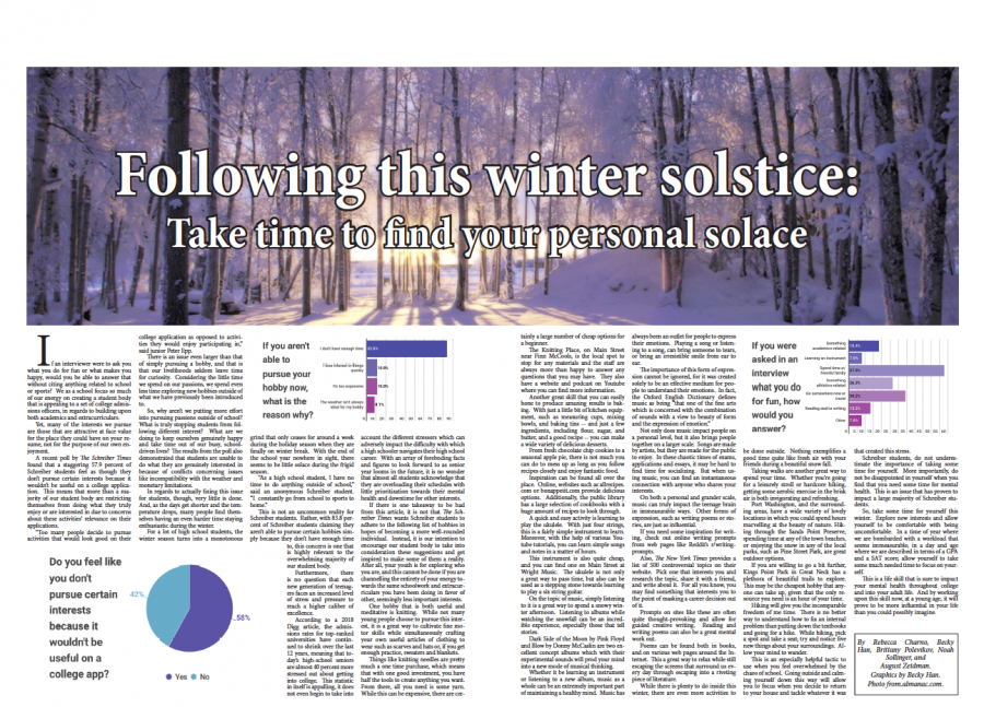 Following this winter solstice: Take time to find you personal solace