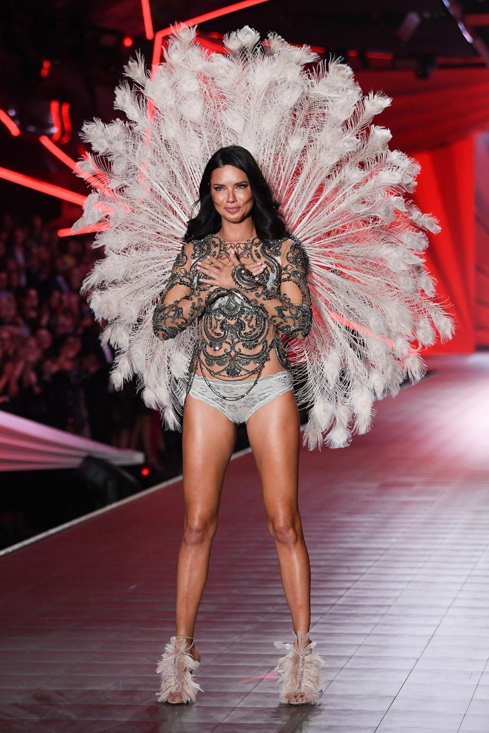 After 17 shows, Adriana Lima has hung up her wings and walked in her last show on Nov. 8. Lima has been a staple in Victoria Secret.
