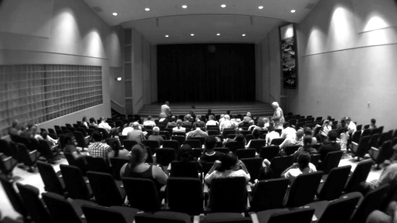 Port Washington residents attend a screening for the Gold Coast International Film Festival.