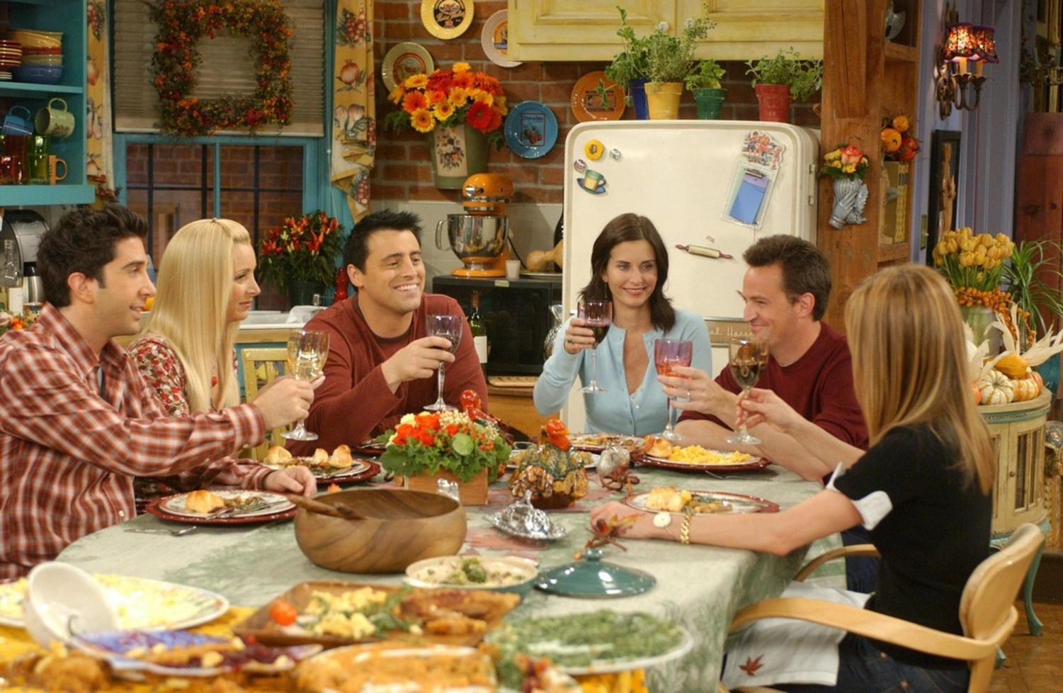 Each season, Monica, Chandler, Ross, Rachel, and Joey celebrate Thanksgiving together with turkey, stuffing, and definitely a lot of laughs. Friends is known for its hilarious Thanksgiving episodes.