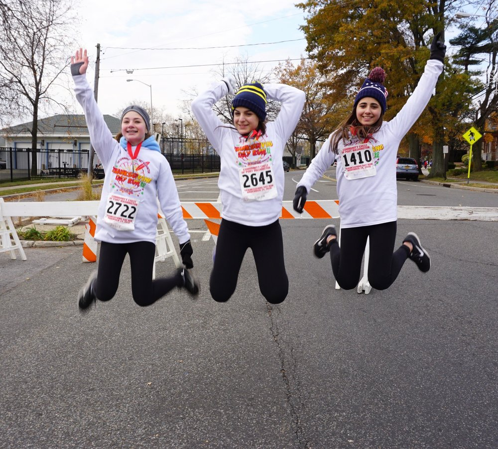 The Turkey Trot is the perfect opportunity to spend time with close friends and family.