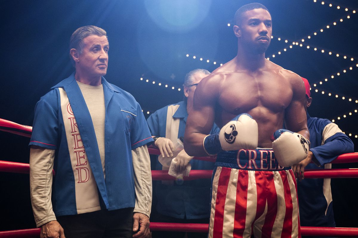 Michael B. Jordan's performance in Creed left fans anxiously wanting more. Needless to say, they were not disappointed when Creed II hit the theaters on November 21, 2018. He is shown here suited up and ready for his next boxing match.