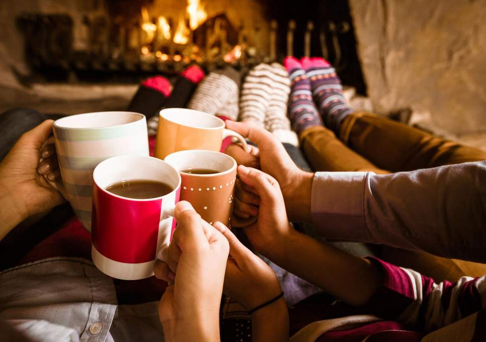 Hot chocolate is the perfect beverage to keep you warm when you are bonding with family or friends this holiday season, it can even be drunk near the cozy fire.