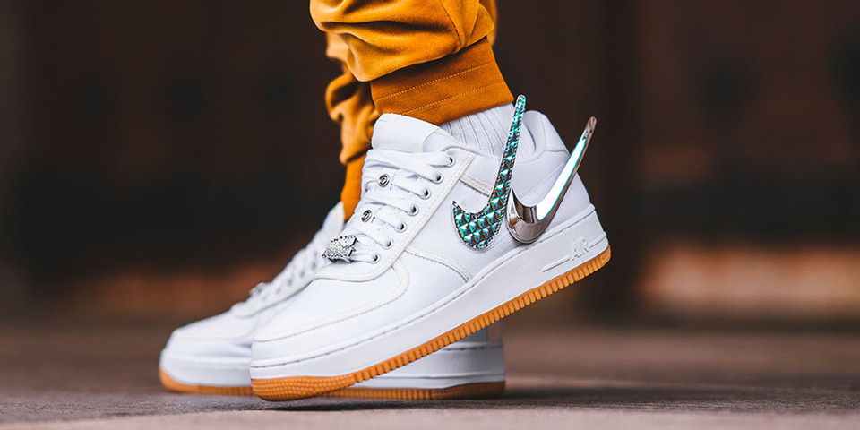 Celebrities like Travis Scott (pictured) have started following the Nike Airfare 1 trend. They have also created their own collections based on the designs.