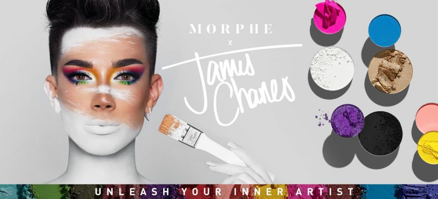 James+Charles%27+new+eye+shadow+palette+features+a+variety+of+colors+to+match+many+moods+and+occasions.
