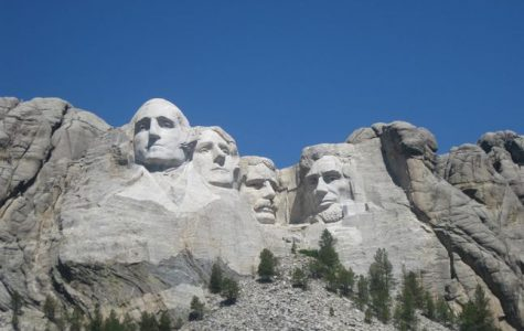 Mount Rushmore in South Dakota serves as a physical representation of the accomplishments of past presidents. George Washington, Thomas Jefferson, Theodore Roosevelt, and Abraham Lincoln are put on display for the public to appreciate their great endeavors, those of which Presidents' Day is dedicated to.
