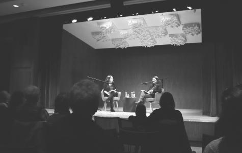 NY State Senator Anna Kaplan speaks at public library