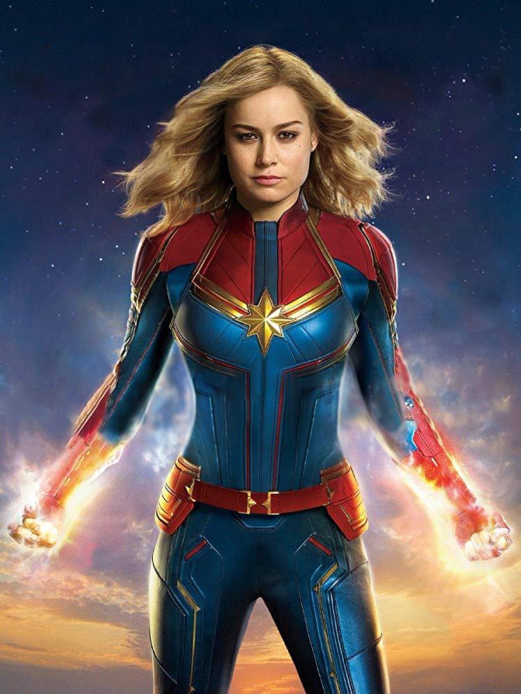 Brie Larson stars as Captain Marvel/Carol Danvers in the new film, Captain Marvel.