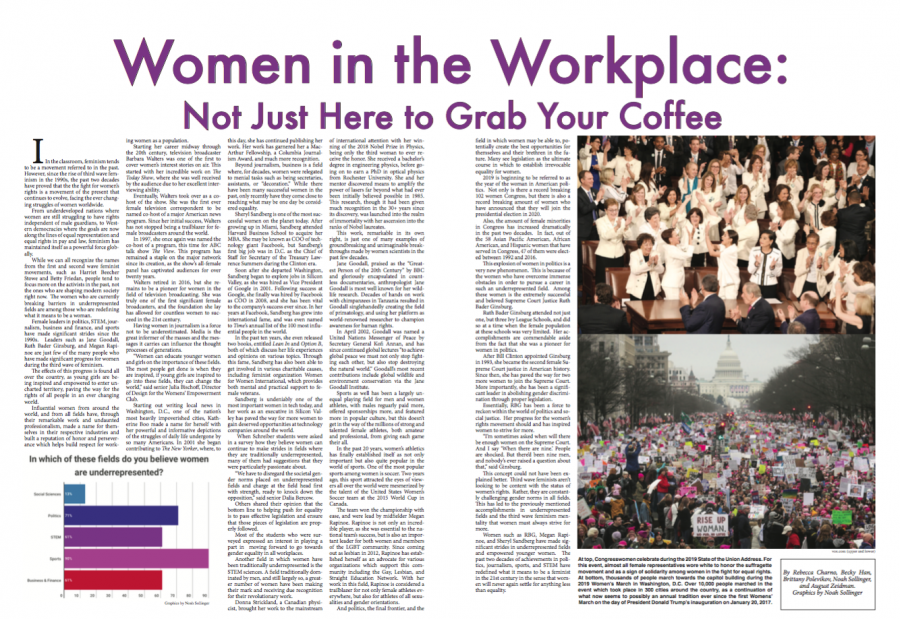 Women in the Workplace: Not Just Here to Grab Your Coffee