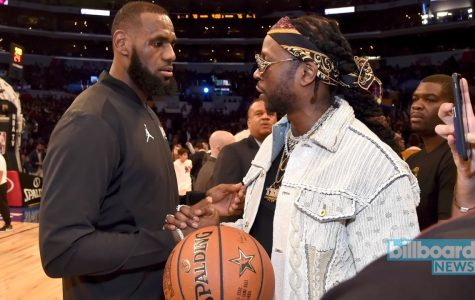 2 Chainz and LeBron James collaboration puts the crowd into a frenzy