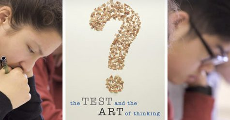 The screening of the documentary The Test and the Art of Thinking was hosted by the Port Washington Landmark.